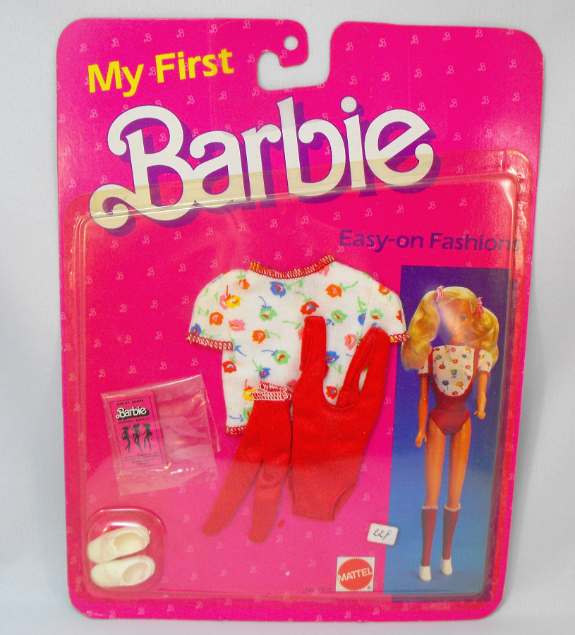My First Barbie - Easy on Fashions Set (7919)