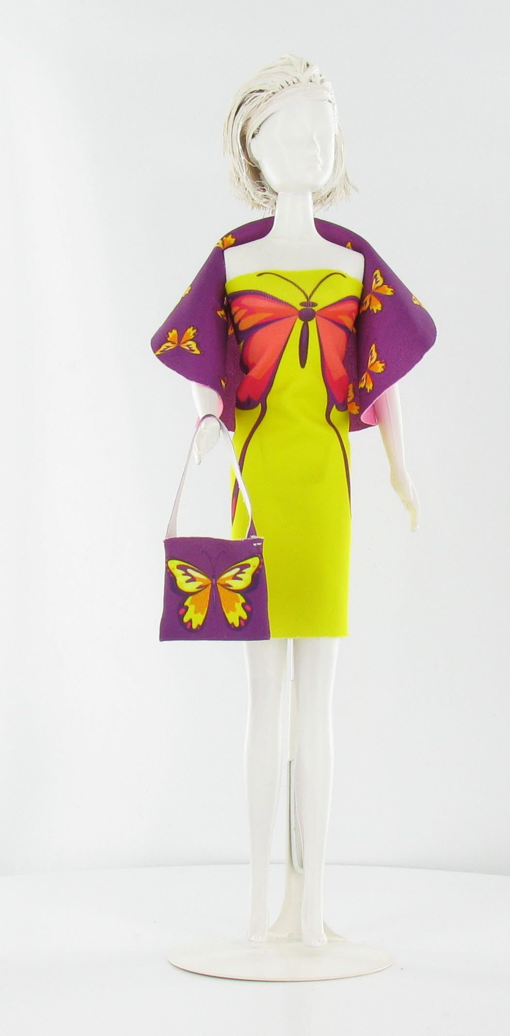 Dress Your Doll - Dolly Butterfly