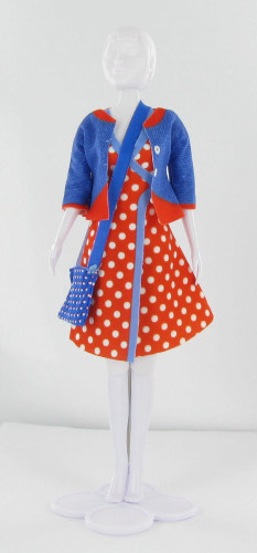 Dress Your Doll - Patsy Dots
