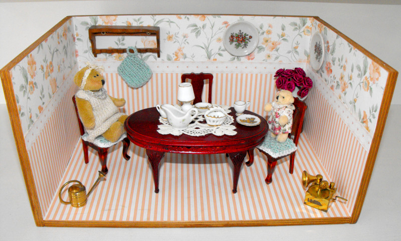 Doll Room with furnishings