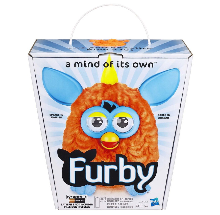 !NEW! 2nd Wave! Furby 2012 - Orange/Blue (US version)