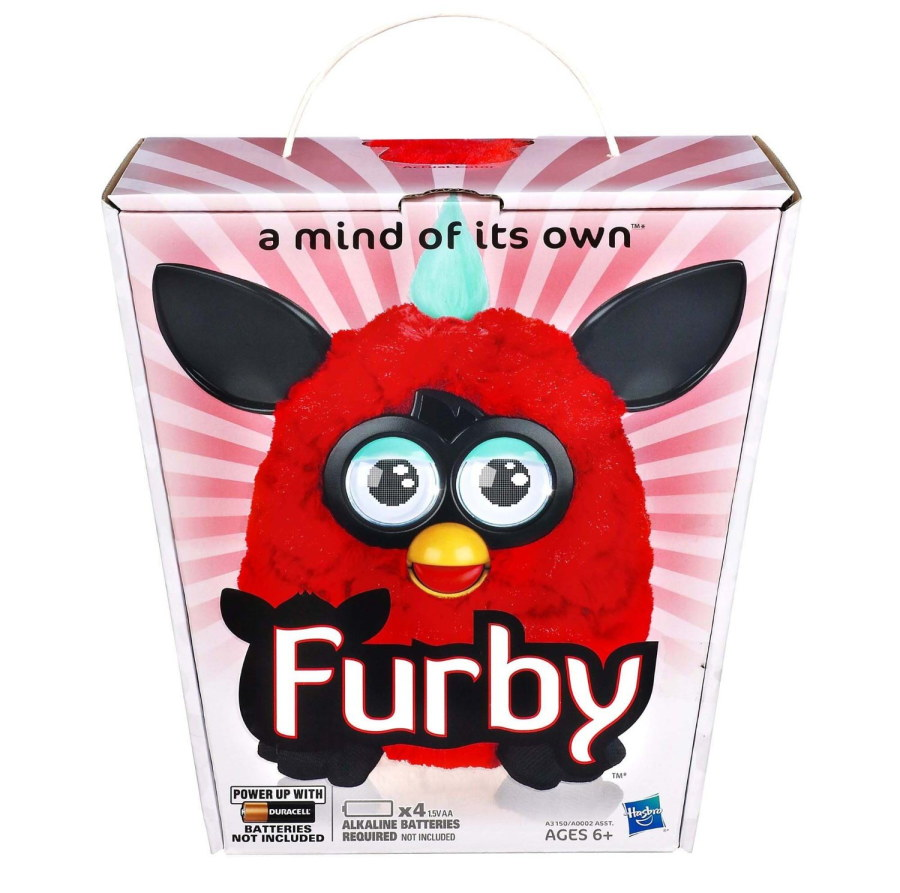 !NEU! 2. Wave! Furby 2012 - Rot/Schwarz (US-Version)