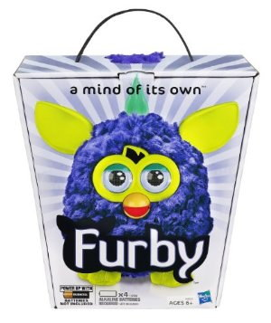 !NEU! 2. Wave! Furby 2012 - Gelb/Blau (US-Version)