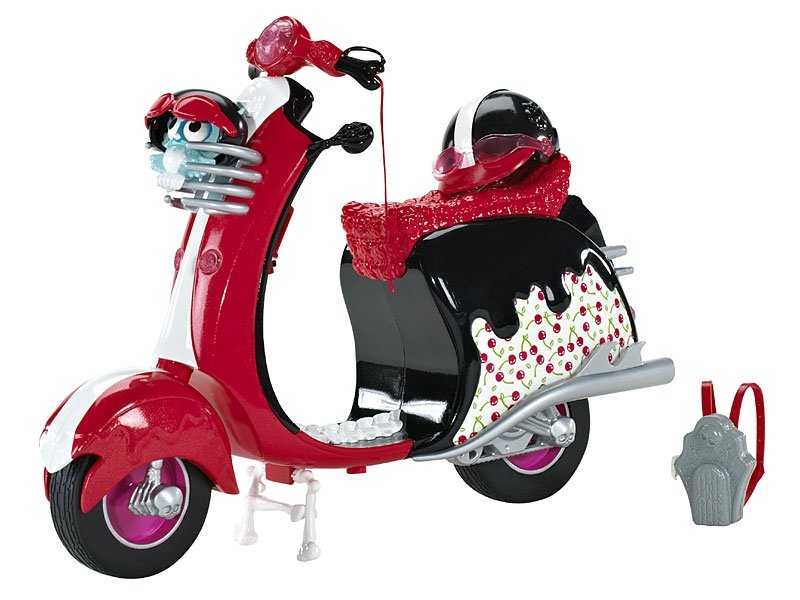 Monster High Moped for Ghoulia Yelps