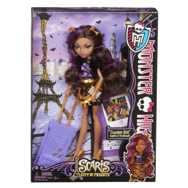 Monster High - SCARIS - The City of Frights - Clawdeen Wolf (US version)