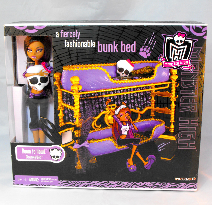 Monster High Room to Howl with Clawdeen Wolf (US version)