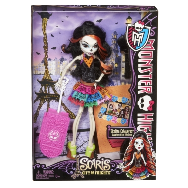 !AVAILABLE NOW! Monster High - SCARIS - The City of Frights - Skelita Calaveras