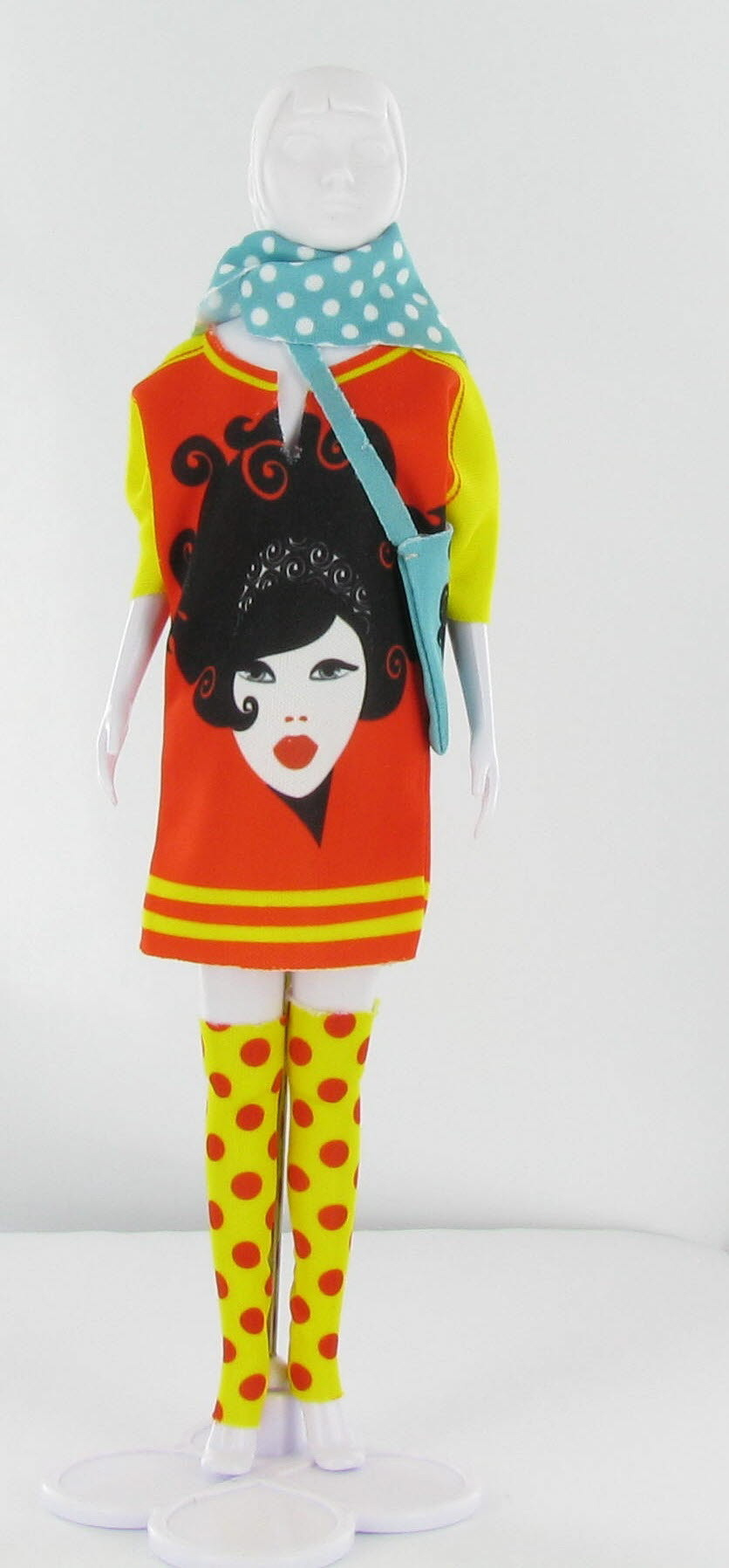 Dress Your Doll - Sally Girl Red