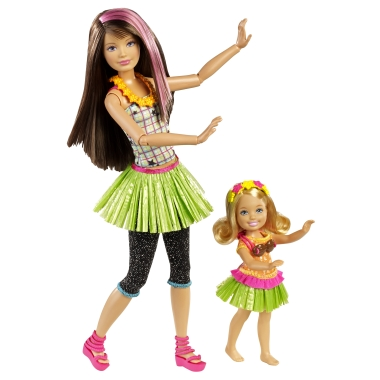 !NEW! Barbie sisters - Hula Dance set