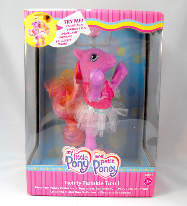 My little Pony - Twirly Twinkle Twirl ballerina pony