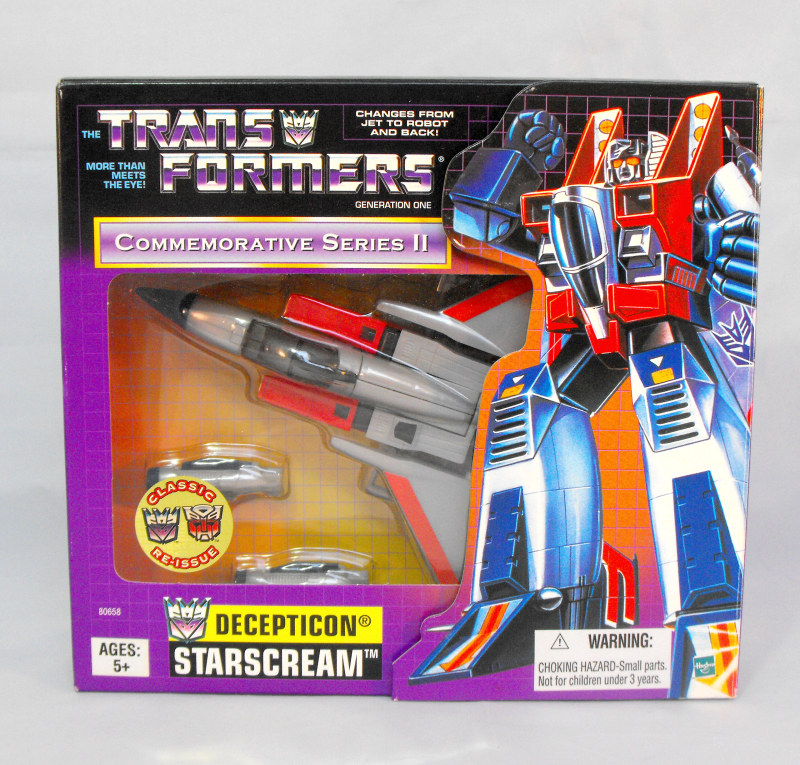 Transformers G1 Starscream