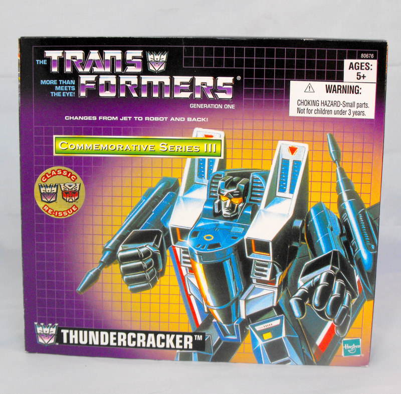 Transformers G1 Thundercracker