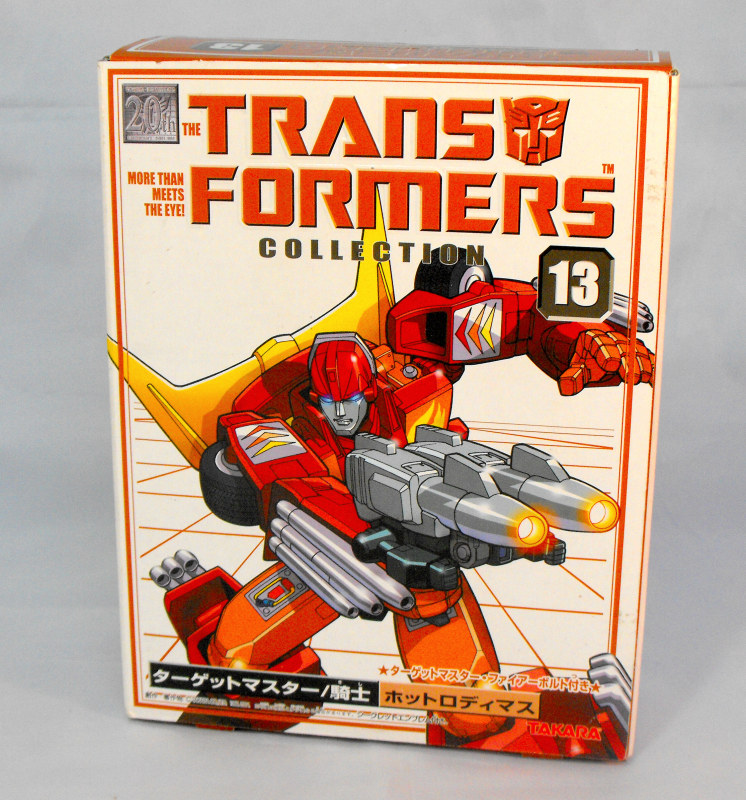 Transformers Collection Targetmaster Hot Rod