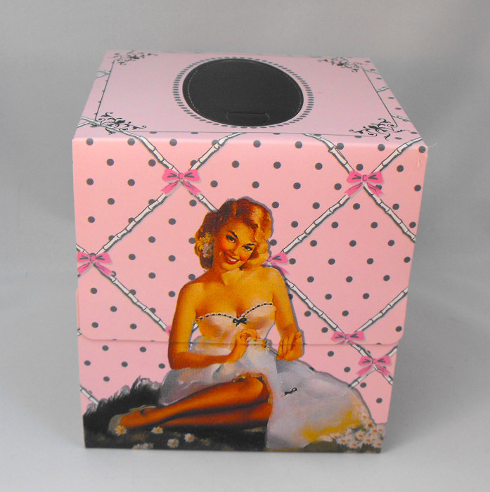 Boudoir Square Tissue Box